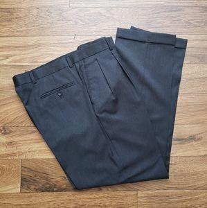 Joseph Abboud 100% wool cuff pants size 36